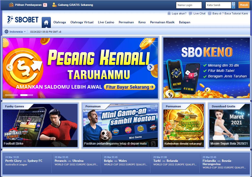 Fasilitas Lengkap Di Situs Sbobet Casino Online